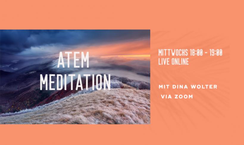 Atem Meditation online mit Dina Wolter